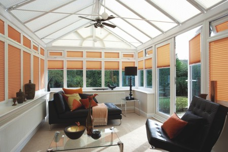 ABS Blinds Tenterden - Pleated Conservatory Blinds
