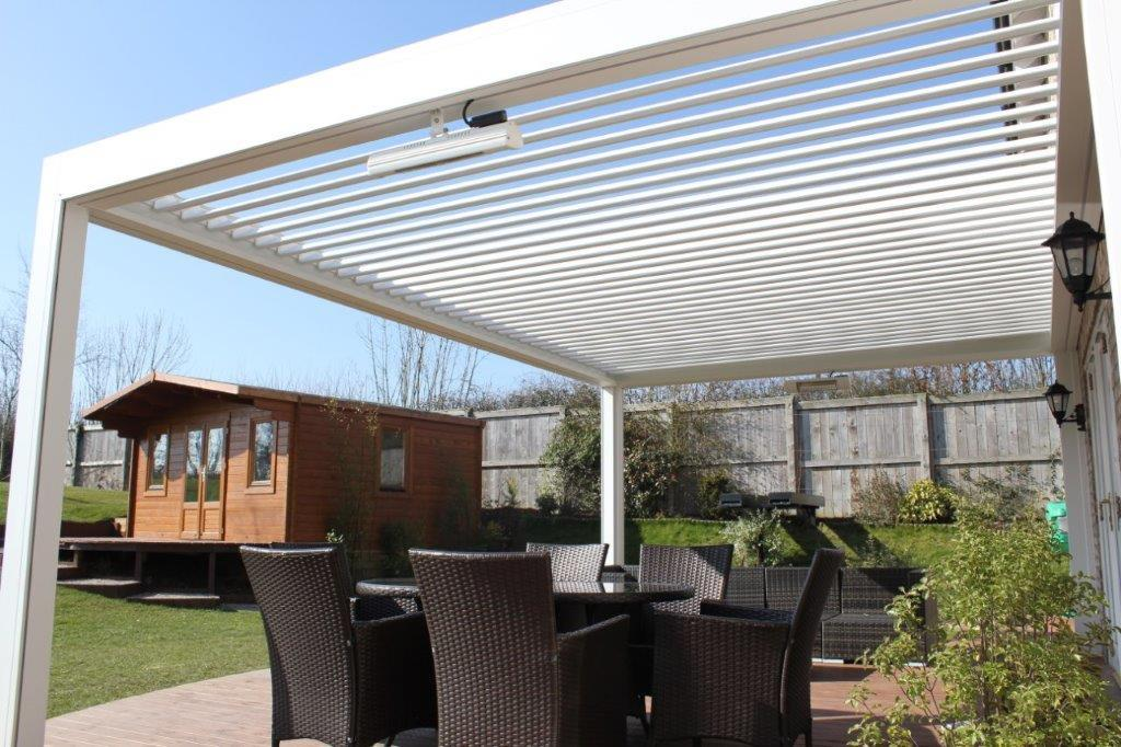 Markilux Awnings Somfy Experts Outdoor Living Pods Abs